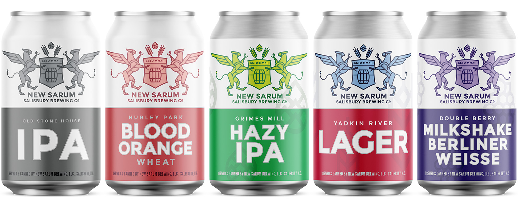 New Sarum Flagship cans